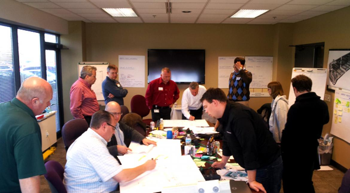 Brooks Stevens, Inc. Conducts IDEAtion Session for Siemens Water Technologies