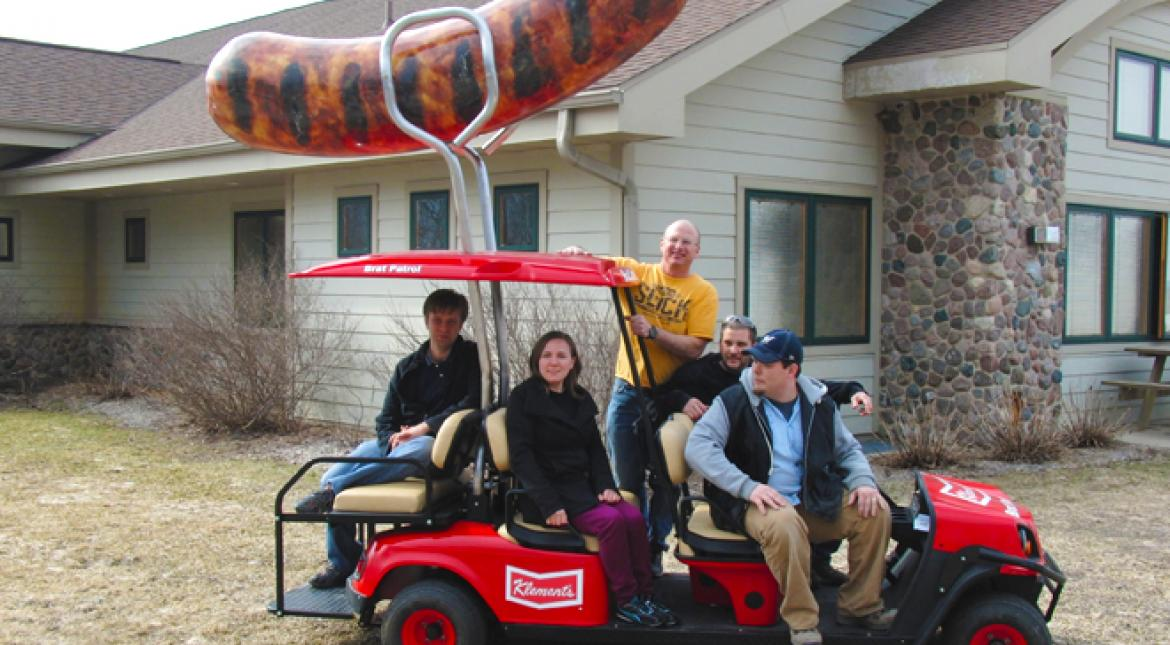 Brooks Stevens, Inc Develops Yet Another Drivable Sausage